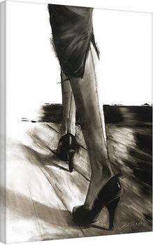 Janel Eleftherakis - Little Black Dress IV Canvas Print