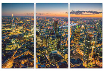 Jason Hawkes - London at Night Canvas Print