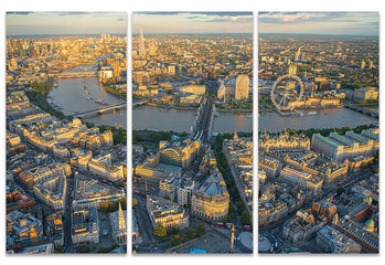Jason Hawkes - London Evening Canvas Print