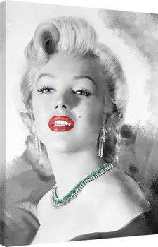 Jerry Michaels - Diamonds Are A Girls Best Friend Canvas Print
