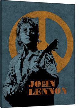 John Lennon - Peace Sign Canvas Print