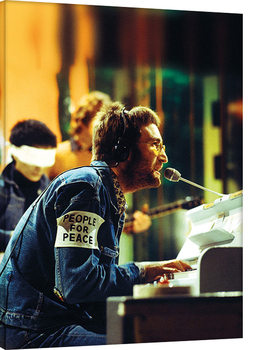 John Lennon - People For Peace Canvas Print