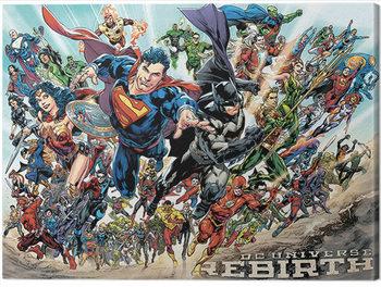 Justice League - Rebirth Canvas Print