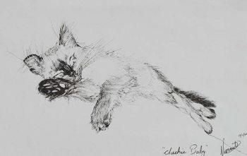 Kitty 'Baby', 2002, Canvas Print