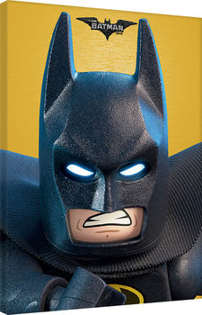 LEGO® Batman - Close Up Canvas Print