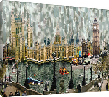 Londres II Canvas Print