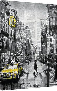 Loui Jover - Brooklyn Cab Canvas Print