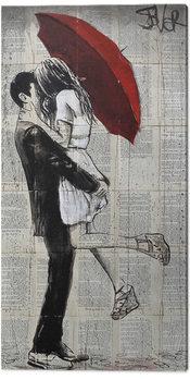 Loui Jover - Forever Romantics Again Canvas Print