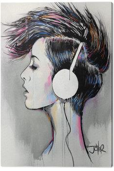 Loui Jover - Inner Beat Canvas Print