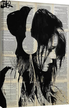 Loui Jover - Melodies Solace Canvas Print
