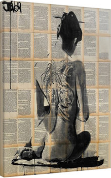 Loui Jover - Path Canvas Print
