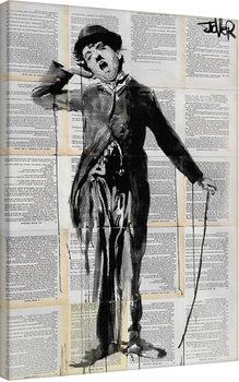 Loui Jover - The Little Tramp Canvas Print