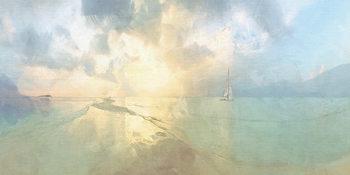 Malcolm Sanders - Between The Islands Canvas Print