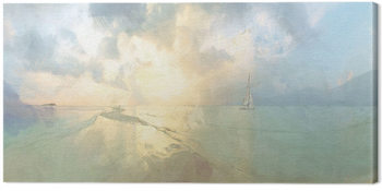 Malcolm Sanders - Between The Islands Canvas Print