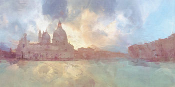 Malcolm Sanders - The Grand Canal Canvas Print