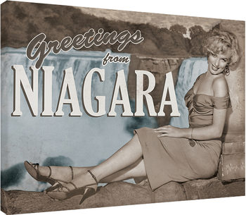 Marilyn Monroe - Niagara Canvas Print
