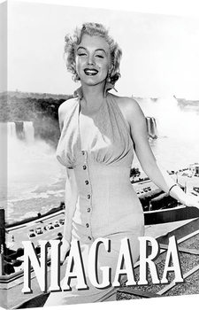 Marilyn Monroe - Niagara Pose Canvas Print