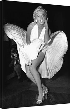 Marilyn Monroe - Seven Year Itch Canvas Print