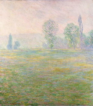 Meadows in Giverny, 1888 Canvas Print