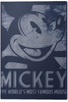Mickey Mouse - Most Famous Mouse Canvas Print