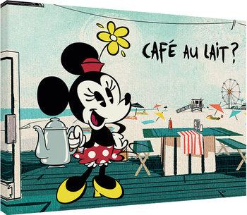Mickey Shorts - Café Au Lait? Canvas Print