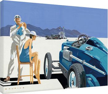 Mike Maurice - Bonneville Salt Flats 2 Canvas Print