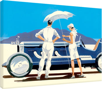 Mike Maurice - Bonneville Salt Flats Canvas Print