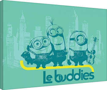 Minions - Le Buddies Canvas Print