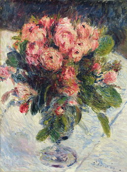 Moss-Roses, c.1890 Canvas Print