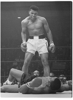 Muhammad Ali - Ali vs Liston Portrait Canvas Print