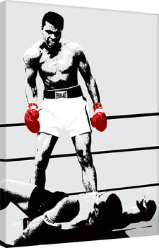 Muhammad Ali - Gloves - Corbis Canvas Print