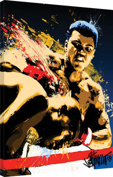 Muhammad Ali - Stung - Petruccio Canvas Print