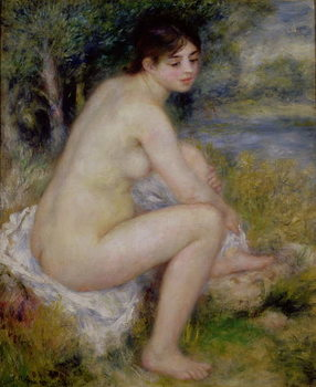 Nude in a Landscape, 1883 Canvas Print