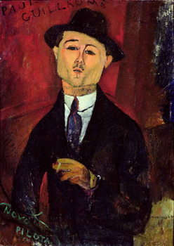 Paul Guillaume (1893-1934) Novo Pilota, 1915 Canvas Print