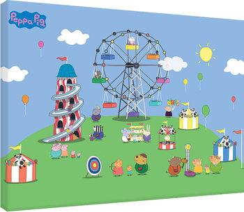 Peppa Pig - Fairground Canvas Print