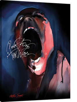 Pink Floyd The Wall - Screamer Canvas Print