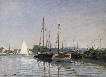 Pleasure Boats, Argenteuil, c.1872-3 Canvas Print