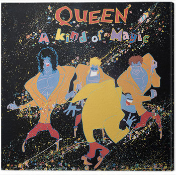 Queen - A Kind of Magic Canvas Print