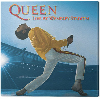 Queen - Live at Wembley Stadium Canvas Print