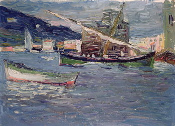 Rapallo, 1905 Canvas Print