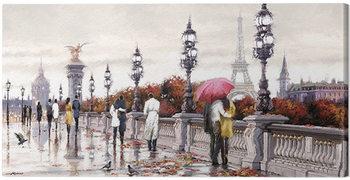 Richard Macneil - Alexander Bridge Canvas Print