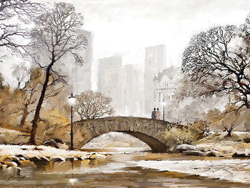 Richard Macneil - Gapstow Bridge Canvas Print