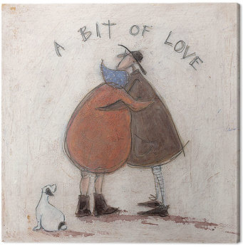 Sam Toft - A Bit of Love Canvas Print