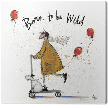 Sam Toft - Born to be Wild Canvas Print