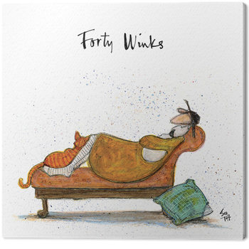 Sam Toft - Forty Winks Canvas Print