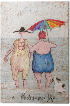 Sam Toft - Midsummer Dip Canvas Print
