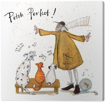 Sam Toft - Pitch Perfect Canvas Print