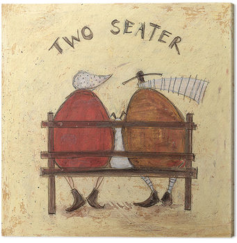 Sam Toft - Two Seater Canvas Print