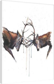 Sarah Stokes - Headstrong Canvas Print
