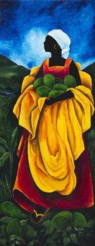 Season Avocado, 2011, Canvas Print